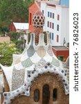 barcelona   april 24  park... | Shutterstock . vector #76826023