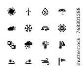 weather icons   expand to any... | Shutterstock .eps vector #768301288