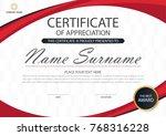 elegance horizontal certificate ...   Shutterstock .eps vector #768316228