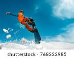 snowboarding sport photo | Shutterstock . vector #768333985