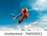 snowboarding sport photo | Shutterstock . vector #768334012