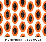 vector seamless pattern with... | Shutterstock .eps vector #768339325