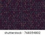 beautiful geometric pattern... | Shutterstock .eps vector #768354802