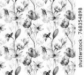 seamless pattern with original...   Shutterstock . vector #768354898