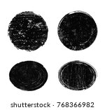 grunge stamps collection.vector ... | Shutterstock .eps vector #768366982