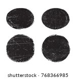 grunge stamps collection.vector ... | Shutterstock .eps vector #768366985