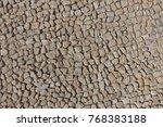 cobble stone road in lines...   Shutterstock . vector #768383188