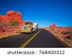 usa. colorado. arches national... | Shutterstock . vector #768400312