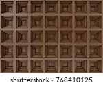 Wood Panels On The Wall ...