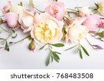 Festive Flower English Rose...