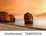 impressive red sandstones of... | Shutterstock . vector #768495016