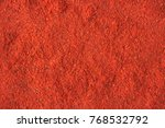Texture Of Adjika Powder Close...