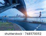 sydney city skyline  big iron... | Shutterstock . vector #768570052