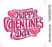 Vector Poster For St. Valentin...