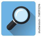 illustration of magnifying... | Shutterstock .eps vector #768593296