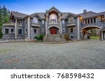 beautiful curb appeal of a...   Shutterstock . vector #768598432