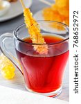crystallized sugar is the...   Shutterstock . vector #768652972