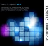 abstract technology background | Shutterstock .eps vector #76866766