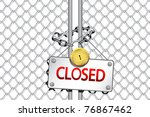 Illustration Of Padlock With...