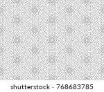 vector illustration of seamless ... | Shutterstock .eps vector #768683785