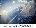 color image of some solar... | Shutterstock . vector #768687496