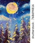 The Big Moon Is Shining...