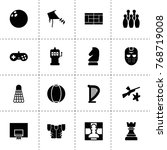 play icons. vector collection...