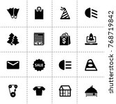 new icons. vector collection... | Shutterstock .eps vector #768719842