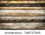 old natural brown barn wood... | Shutterstock . vector #768727045