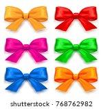 bow set.vector illustration | Shutterstock .eps vector #768762982