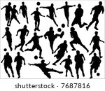 football | Shutterstock .eps vector #7687816