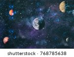 Planets Stars Galaxies Outer Space - Fine Art prints