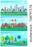 june 5 world environment day... | Shutterstock . vector #768797176