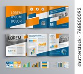 business brochure template... | Shutterstock .eps vector #768800092