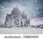 Snow Storm Over The Basilica O...
