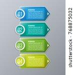 business infographics. creative ... | Shutterstock .eps vector #768875032