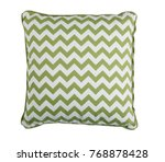 soft pillow on white background   Shutterstock . vector #768878428