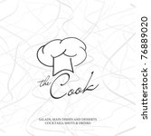 vector. restaurant menu design | Shutterstock .eps vector #76889020