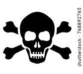 Skull And Bones Mortal Symbol...