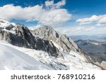 snow capped mountains | Shutterstock . vector #768910216