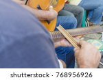 samba is part of carioca... | Shutterstock . vector #768956926