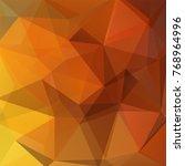 abstract geometric style orange ... | Shutterstock .eps vector #768964996