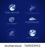 vector flat collection of pure... | Shutterstock .eps vector #769053952