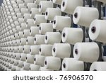 large group of bobbin thread... | Shutterstock . vector #76906570