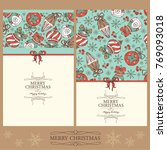 collection of christmas and new ...   Shutterstock .eps vector #769093018