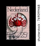 netherlands   circa 1974  stamp ...   Shutterstock . vector #769099468
