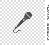 microphone vector icon | Shutterstock .eps vector #769100962