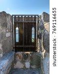 old wooden door  | Shutterstock . vector #769116655