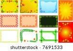 frame | Shutterstock .eps vector #7691533