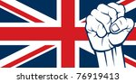 flag of united kingdom of great ...   Shutterstock .eps vector #76919413